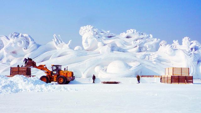 harbin gotovitsja k festivalju snega i lda 1