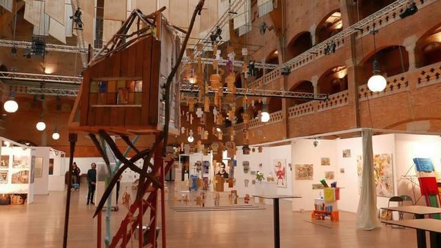 vystavka sovremennogo iskusstva this art fair v amsterdame