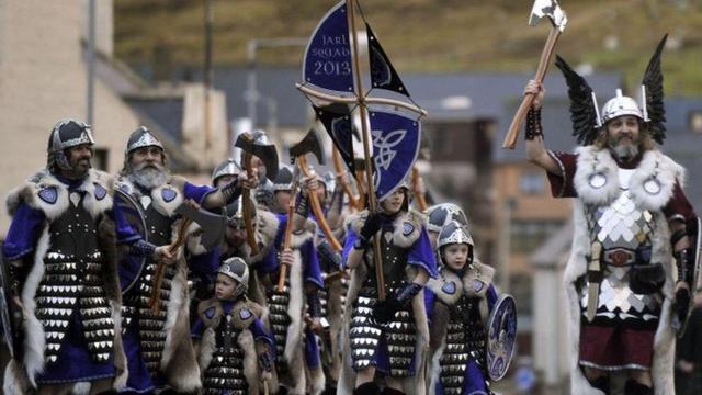 festival vikingov up helly aa v leruike 1