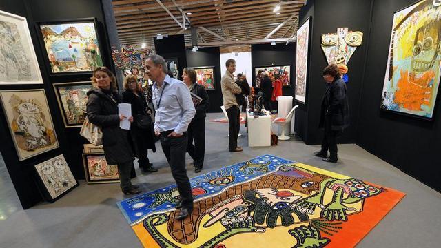 Выставка современного искусства Art Up! во Франции